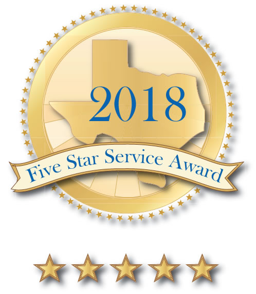 Five Star Service Award