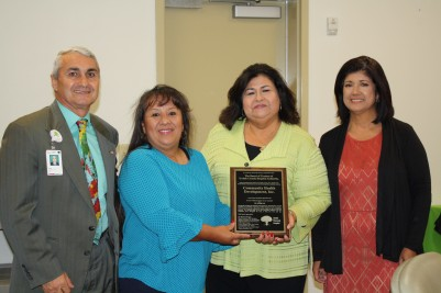 UMH Presents Community Health Development, Inc. with Resolution