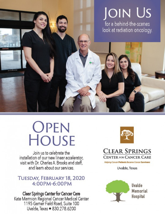 Clear Springs Center for Cancer Care Open House