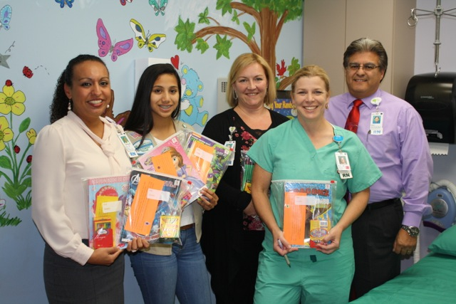 """Bags of Smilles"" Presented to Hospital"