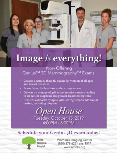 UMH Women's Imaging Open House